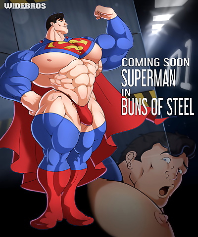WideBros Superman in Buns of..